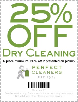 Dry cleaning coupons dallas