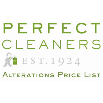 Dry Cleaners Alterations and Tailoring